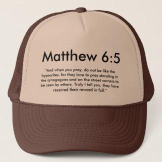 Gorra del 6:5 de Matthew