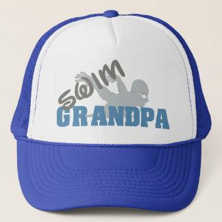 Gorra del abuelo de la nadada