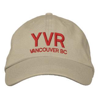 Gorra del aeropuerto internacional de Vancouver