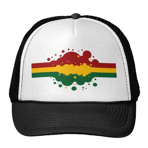 Gorra del arco iris de Rasta