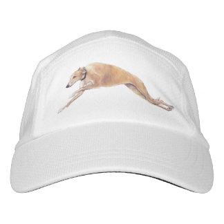 Gorra del arte del perro corriente del galgo