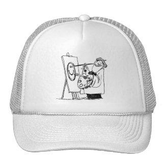gorra del artista