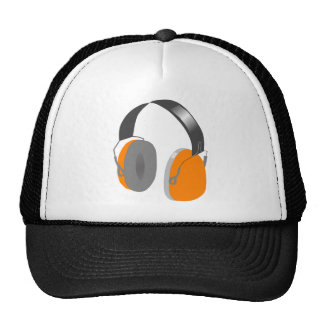 Gorra del auricular de la escuela vieja