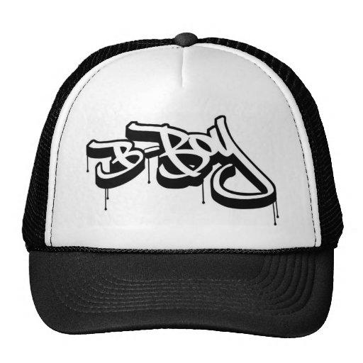 gorra del B-muchacho