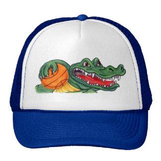 Gorra del baloncesto del cocodrilo