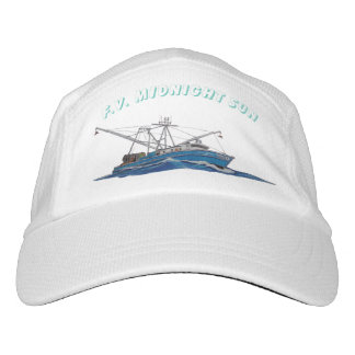 gorra del barco de pesca
