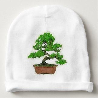 Gorra del bebé: Árbol japonés de los bonsais Gorrito Para Bebe