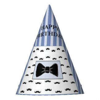 Gorra del bigote y de la fiesta de cumpleaños de