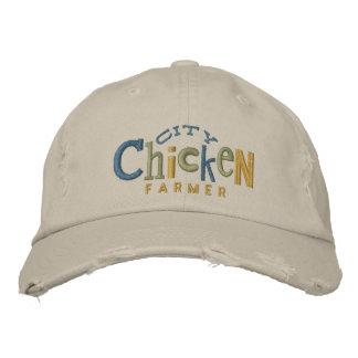 Gorra del bordado del granjero del pollo de la ciu gorra bordada