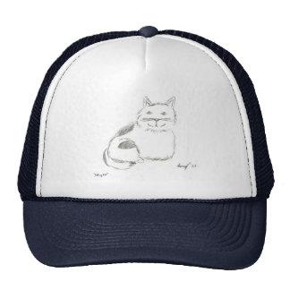Gorra del bosquejo del gatito
