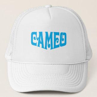 Gorra del camafeo con el logotipo azul
