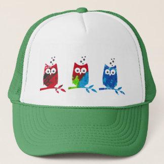 Gorra del camionero con el logotipo