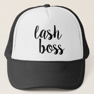 Gorra del camionero de Boss del latigazo