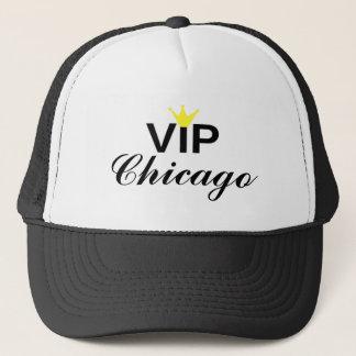 Gorra del camionero de Chicago de la corona del