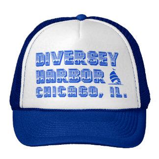 Gorra del camionero de Chicago del puerto de