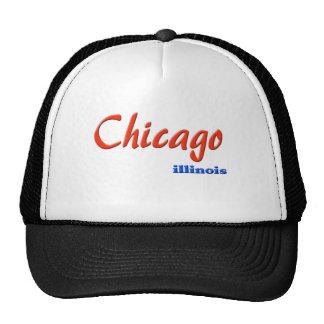 Gorra del camionero de Chicago Illinois