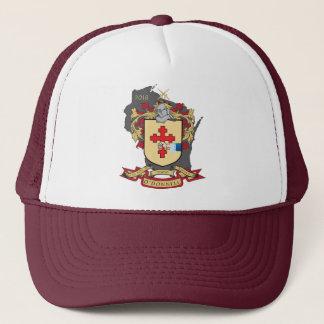 Gorra del camionero de Crest_Wisconsin de la