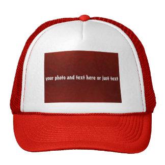 Gorra del camionero de DIY para los equipos,