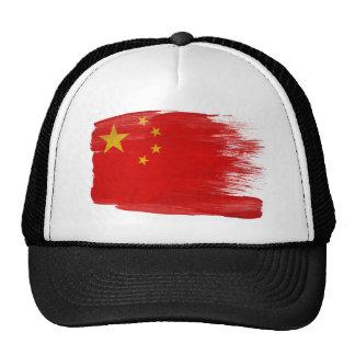 Gorra del camionero de la bandera de China