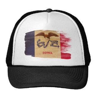 Gorra del camionero de la bandera de Iowa