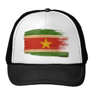 Gorra del camionero de la bandera de Suriname