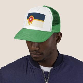 Gorra del camionero de la bandera de Tulsa