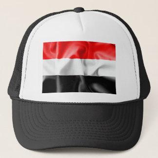 Gorra del camionero de la bandera de Yemen