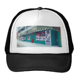 Gorra del camionero de la barra del parque