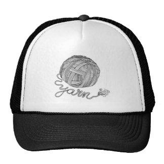 Gorra del camionero de la bola del hilado