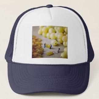 Gorra del camionero de la bomba de la pasa