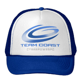 Gorra del camionero de la costa del equipo