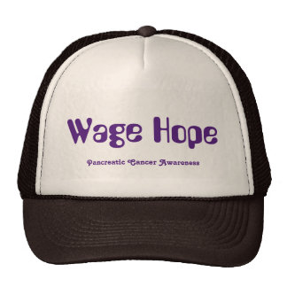 Gorra del camionero de la esperanza del salario