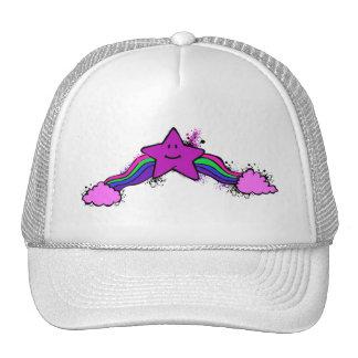 Gorra del camionero de la estrella del arco iris
