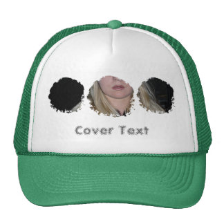 Gorra del camionero de la foto