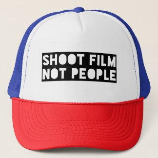 Gorra del camionero de la gente de la película del