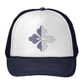 Gorra del camionero de la imagen de la letra