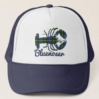 Gorra del camionero de la langosta del tartán de
