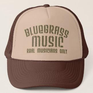 Gorra del camionero de la música de Bluegrass