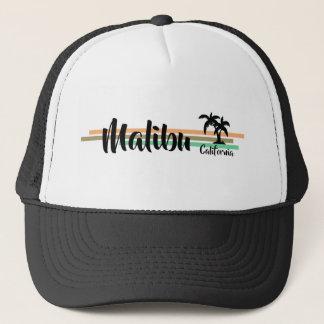 Gorra del camionero de la palma de Malibu