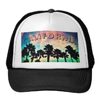 Gorra del camionero de la puesta del sol de