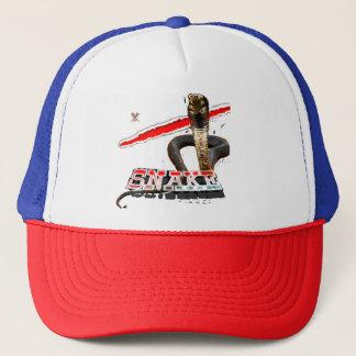 Gorra del camionero de la serpiente