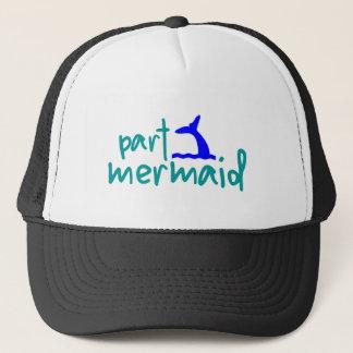Gorra del camionero de la sirena