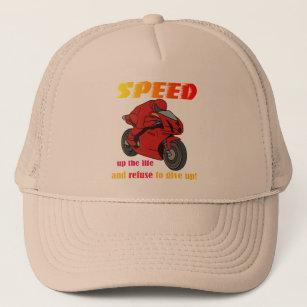 Gorra del camionero de la velocidad