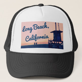 Gorra del camionero de Long Beach California