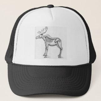 Gorra del camionero de los alces
