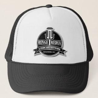 Gorra del camionero de los medios del Binge