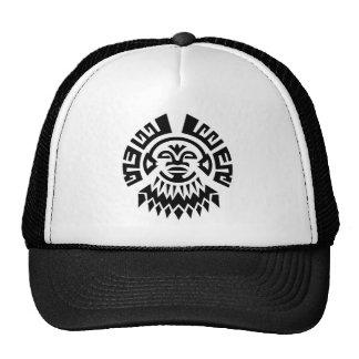 Gorra del camionero de los miembros de una tribu