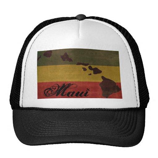 Gorra del camionero de Maui Rasta
