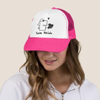 Gorra del camionero de Meepple de la novia del