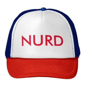 ¡Gorra del camionero de NURD! Gorro De Camionero